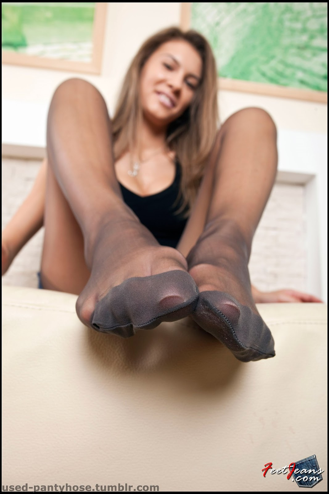 Tumblr feet nylon