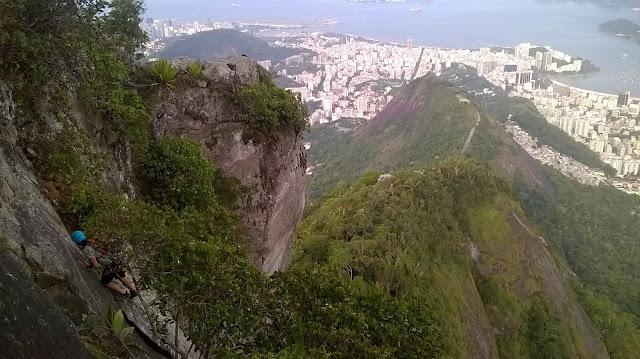 Escalada na Via K2 - Corcovado RJ