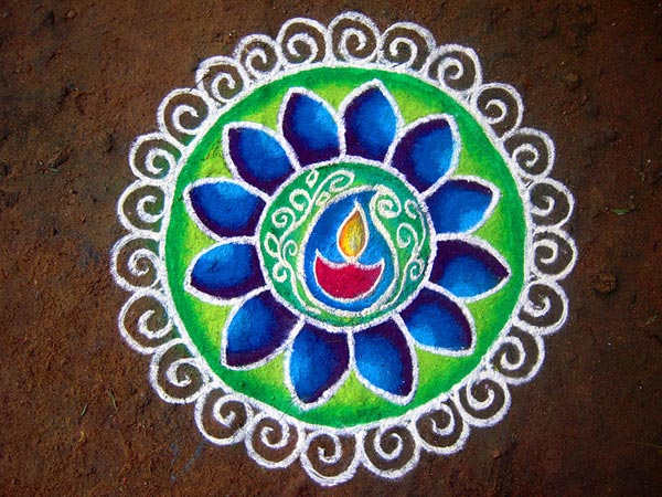 Free-Hand-Rangoli-Designs