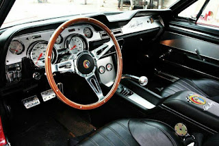 1967 Shelby Mustang GT500 Eleanor Interior