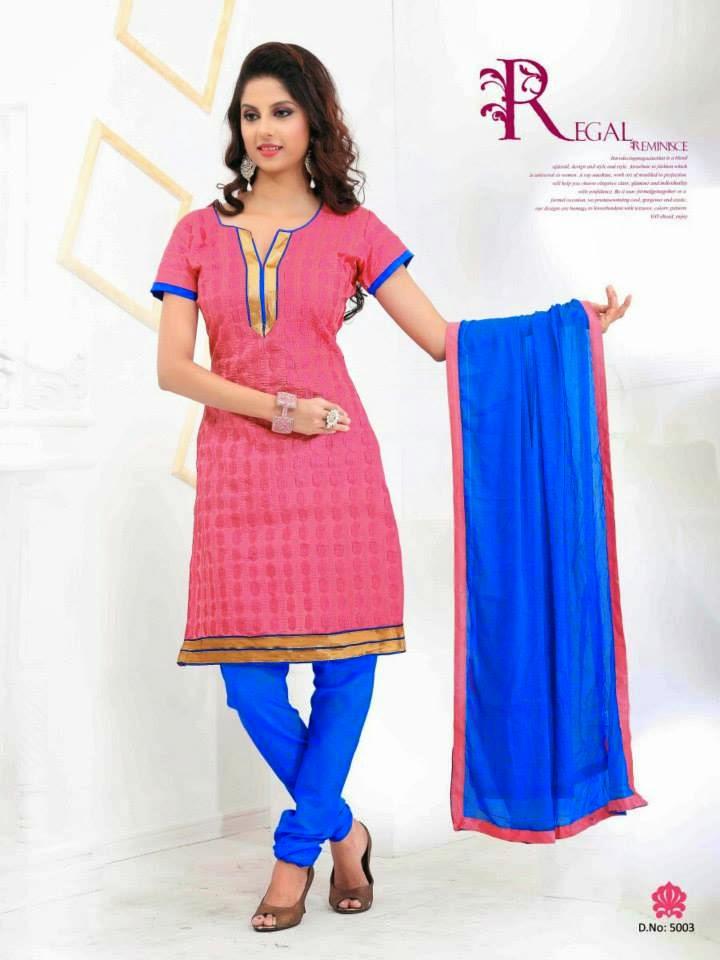 Office Wear | Trendy Suits 2015 For Indian Girls By Dhavani | WFwomen