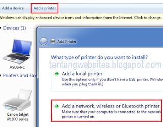 cara sharing komputer dengan jaringan LAN