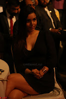 Kyra Dutta in black At Rogue Movie Audio Launch ~  002.JPG