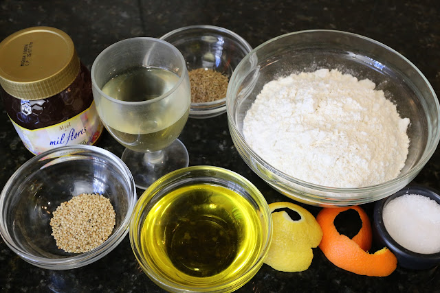 Ingredientes para pestiños caseros