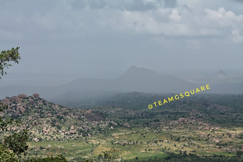 Rain, Sun and Hill, Channarayana Durga