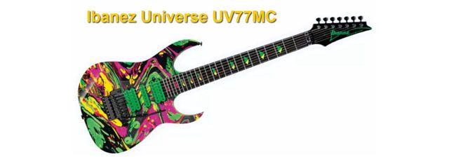 Guitarra de Steve Vai Ibanez Universe 7 Cuerdas