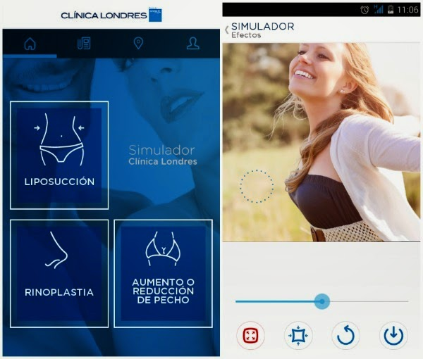 aplicación con la que podrás ver el antes y el después