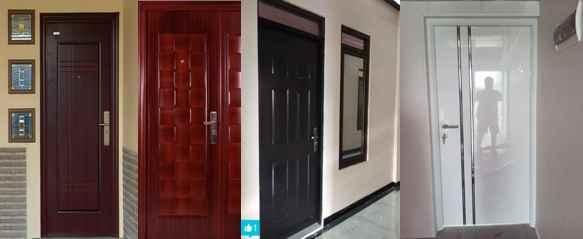 Warna Pintu rumah minimalis