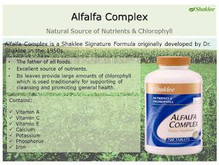 Kandungan Alfalfa Complex
