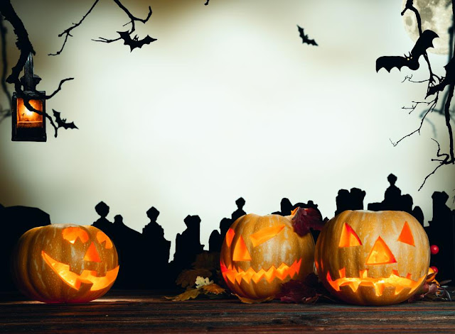 Free Scary Halloween Background Pictures