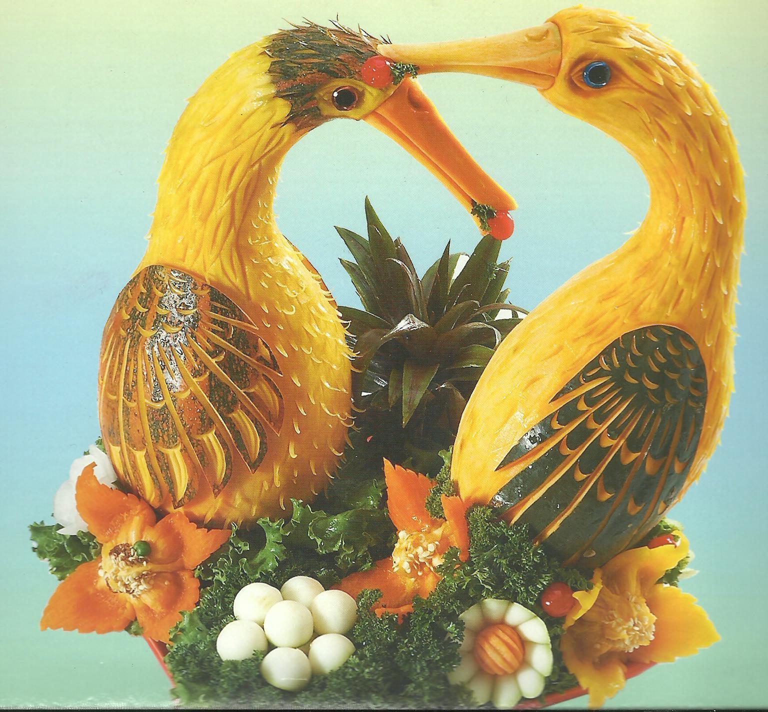 el blog del tavo p el arte de esculpir frutas y vegetales