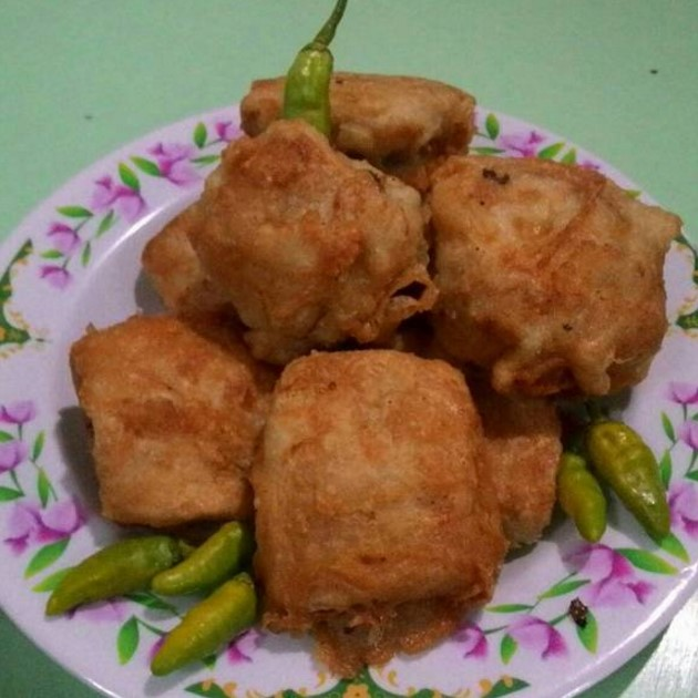 Resep Tahu Brontak Isi Bakso dan Sayuran Pedas, Mantap