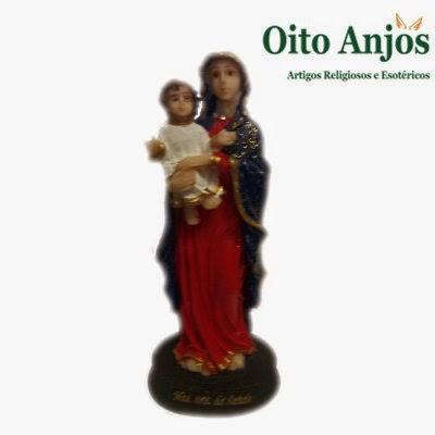 Imagem N.Sra. - Nossa Senhora  * Oito Anjos Artigos Religiosos e Loja Esotérica