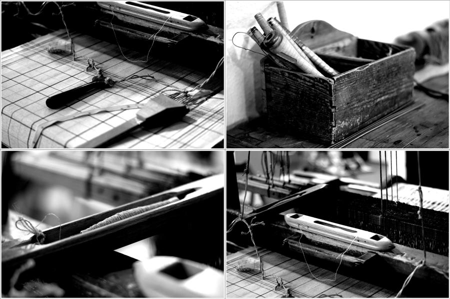 Blog + Fotografie | fim.works | Nachtansichten Bielefeld | Anstalt Bethel | Ausstellung BroSa | Collage Handweberei