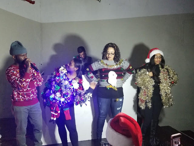 20171217 021508 - 12 DRESSES OF CHRISTMAS LOOK 6: UGLY SWEATER W. FUN WITH FRIENDS