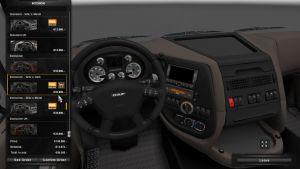 DAF XF SiSL's Interiors