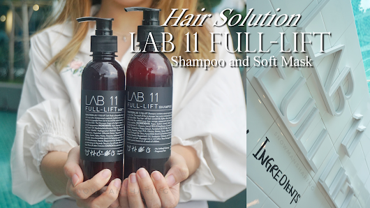 Hair Solution with LAB11 Full Lift Shampoo and Soft Mask