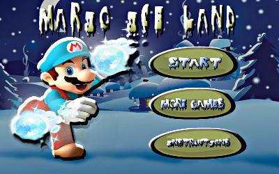 Mario Ice Land - Jeu de Plateforme / Puzzle sur PC