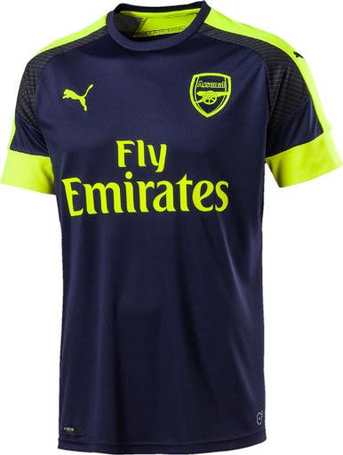 Arsenal 16-17 Third Kit Released - Footy Headlines