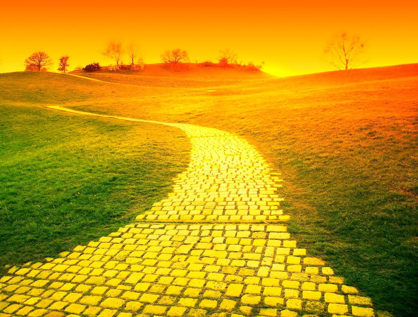 Yellow Brick Road Background