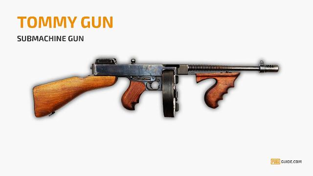 بندقية Tommy Gun ,PUBG