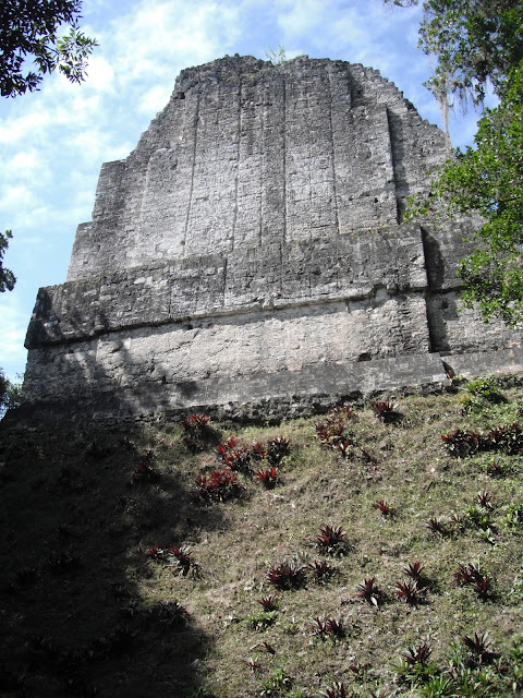 Tikal National Park Guatemala Mayan ruins temple pyramid inscriptions