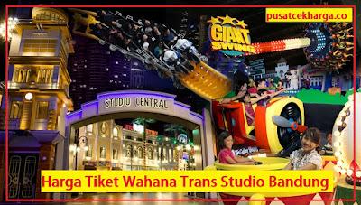 Harga Tiket masuk Trans Studio Bandung