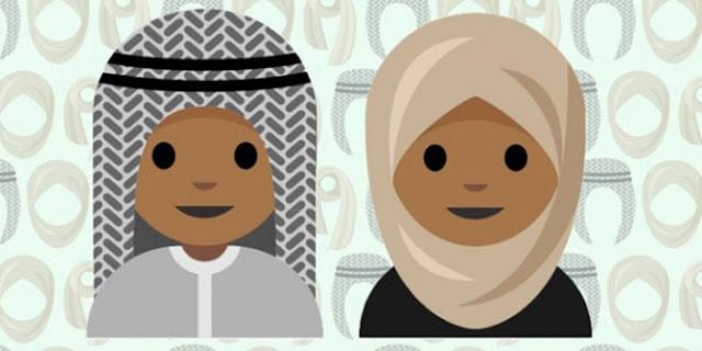 Ini Dia Emojji Hijab Yang Sedang Di Kampanyekan Remaja Arab Saudi