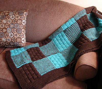 Little Johnny's Patchwork Blankie  free pattern
