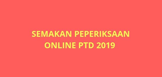 Semakan Peperiksaan Pegawai Tadbir Diplomatik (PTD) 2021 Online
