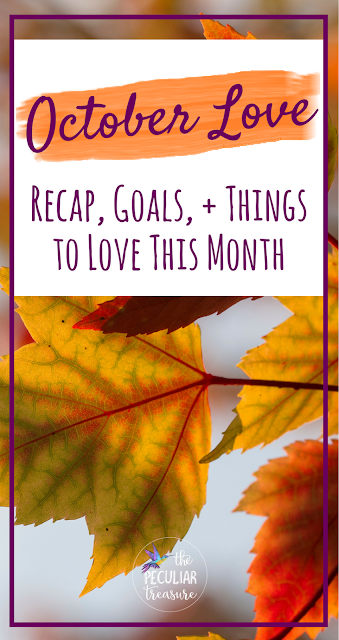 #Fall #October #Goals