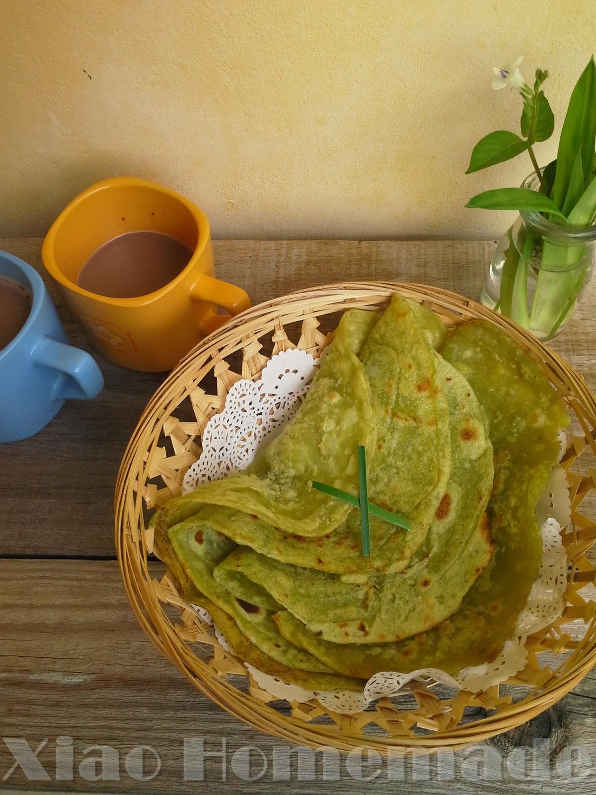 Xiao Homemade's Blog: 香煎班蘭面粉糕