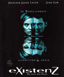 Poster Of Hollywood Film eXistenZ (1999) In 300MB Compressed Size PC Movie Free Download At worldfree4u.com
