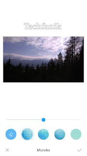 Xiaomi efekt mozaiki na zdjęciach