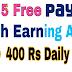 Top 5 Free Paytm Cash Earning App Se Paise Kaise Kamaye