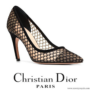 Queen Rania wore Dior D-Choc Pumps