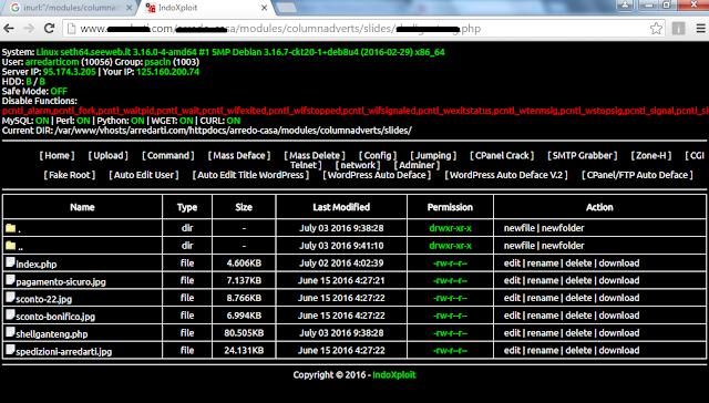 shell backdoor untuk deface website