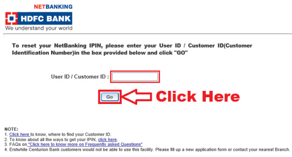 how to register hdfc net banking online