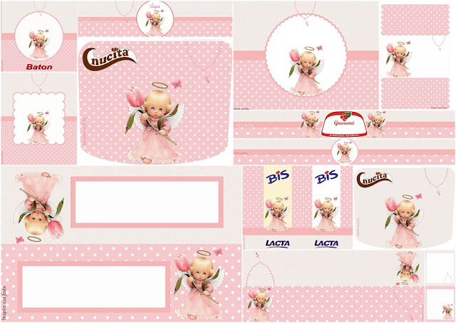 Angelita precious moments etiquetas para candy bar para imprimir gratis oh my primera comuni n - Etiquetas comunion para imprimir en casa gratis ...