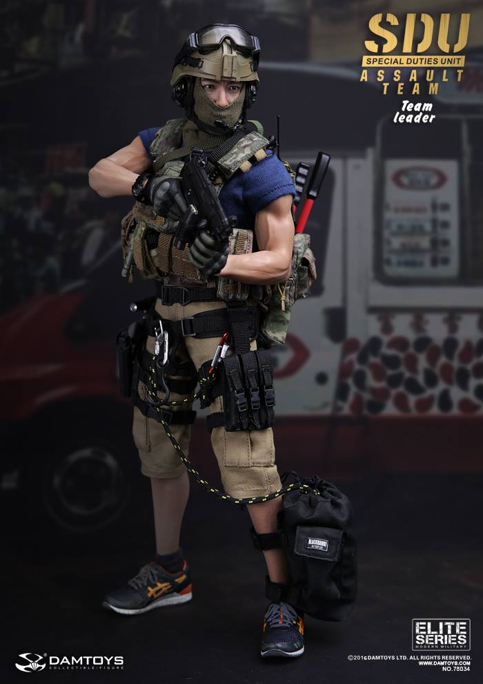 SOLDIER STORY Green Rope SDU ASSAULT LEADER 1//6 ACTION FIGURE TOYS did dam