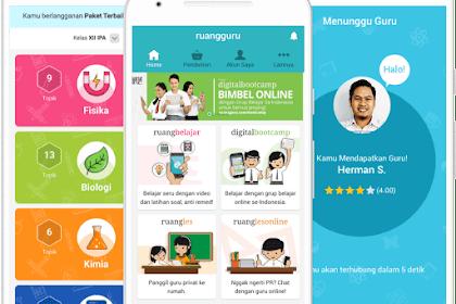5 Aplikasi Belajar Online di HP Android GRATIS