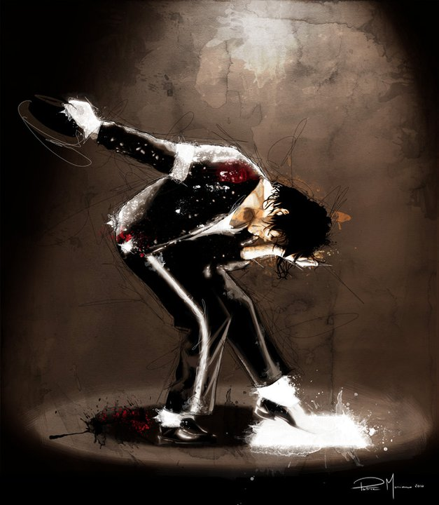 Michael Jackson | Patrice Murciano 1969 | French Pop Art and Mix Media painter