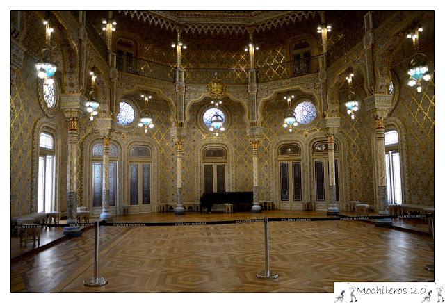Sala Árabe, Palacio da Bolsa, Oporto
