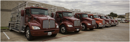Dallas Flat Glass Distributing  Kenworth T270s