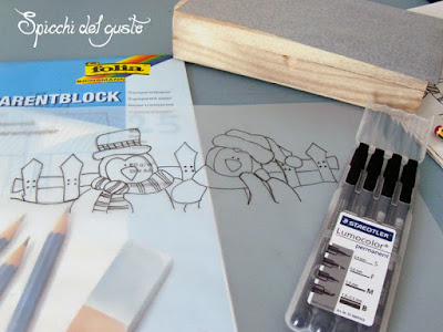 disegnare pinguini