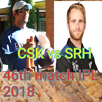 IPL 2018 Cricket, live score CSK vs SRH