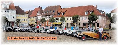 O quinto encontro anual de MP Lafer na Alemanha reuniu 13 unidades da marca na região da Turíngia, em agosto de 2016.