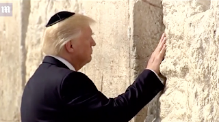 Israel will name a new train station near Jerusalem's Western Wall after TRUMP for his 'historic and brave decision' to recognize it as the capital and move the U.S. embassy there