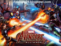 Marvel: Avengers Alliance 2 Apk v1.1.0 Mod (Massive Damage)