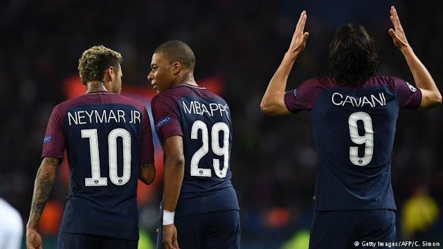 مباراة باريس سان جيرمان وسرفينا زفيزدا في دوري أبطال أوروبا
